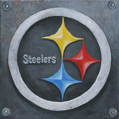 Steelers Original by Donna Tucker