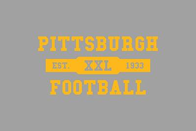 Pittsburgh Steelers Photograph - Steelers Retro Shirt by Joe Hamilton