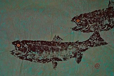 Steelhead Salmon Run  Original by Jeffrey Canha