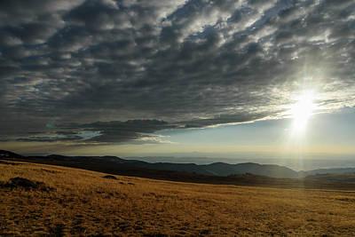 Photograph - Steens Mountain Sunburst by Robert Potts