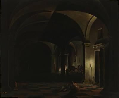 The Denial Of St. Peter Painting - Steenwijck, Hendrick Van by MotionAge Designs