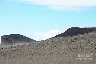 Photograph - Steep Lava Hill by Jan Brons