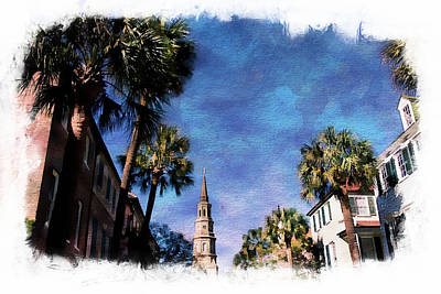 Photograph - Steeple Blues by Alice Gipson