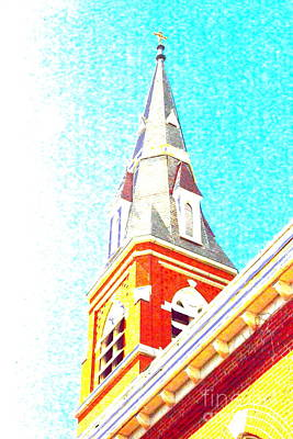 Photograph - Steeple Chaste by Jesse Ciazza