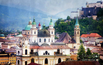 Photograph - Steeples Of Salzburg by Scott Kemper
