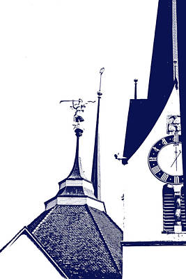 Photograph - Steeples Of Zurich by Lali Kacharava