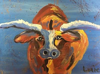 Easterseals Painting - Steer Clear by Louie M