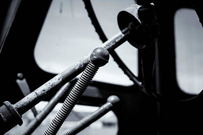 Photograph - Steering Column Of Direction by John Williams