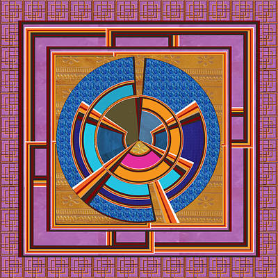 Steering Wheel For People In Helms Of Affairs  Leaders Heads Of Business Enterprises Ceos Presidents Art Print by Navin Joshi