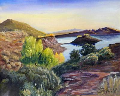 Painting - Steinaker by Sherril Porter