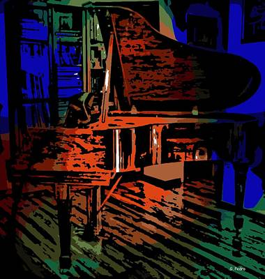 Steinway Piano Art Print by George Pedro