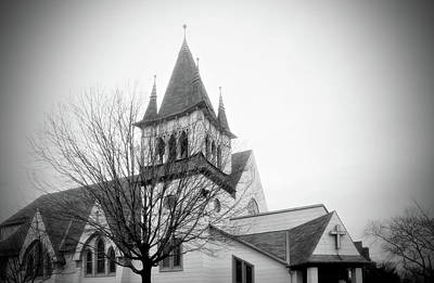Photograph - Steinway Reform Church by Cate Franklyn