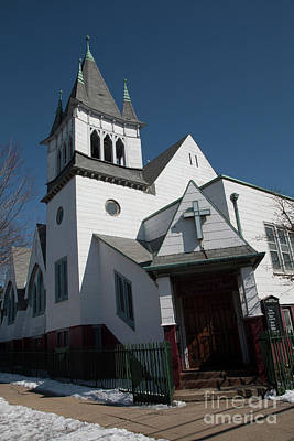 Photograph - Steinwy Reformed Church Steinway Reformed Church Astoria, N.y. by Steven Spak