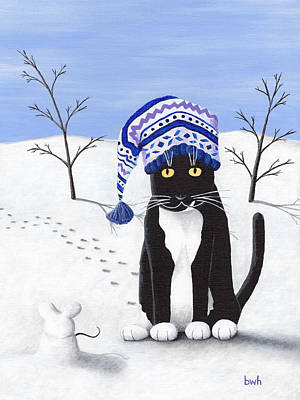 Stella And The Snowmouse Original by Bradley Hall