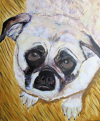 Art Print featuring the painting Stella by Barbara Giordano