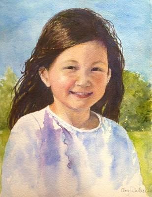 Windblown Painting - Stella by Cheryl Wallace