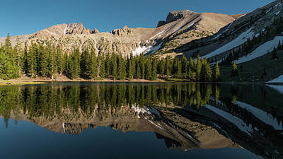 Photograph - Stella Lake Great Basin National Park Nevada by Lawrence S Richardson Jr