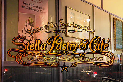 Photograph - Stella Pastry North Beach 2 by Bonnie Follett
