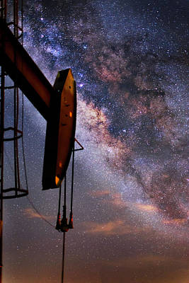 Stellar Energy Art Print by Matt Smith