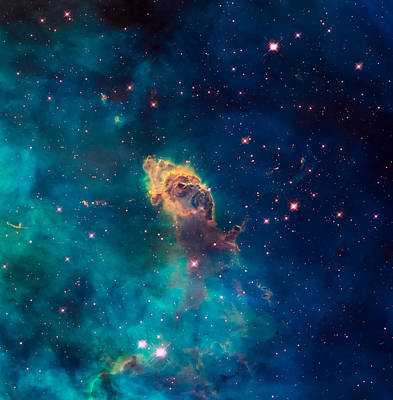Outer Space Photograph - Stellar Jet In The Carina Nebula by Space Art Pictures