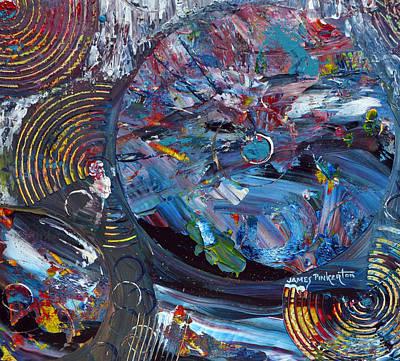 Stellar Painting - Stellar Winter by James Pinkerton