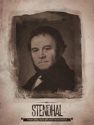 Stendhal Print by Afterdarkness
