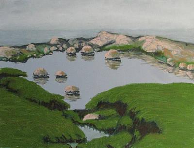 Pastel - Steninge 1 by Art Nomad Sandra  Hansen
