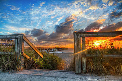 Photograph - Step Into The Morning by Debra and Dave Vanderlaan