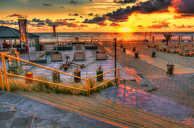Zandvoort Photograph - Step Into The Sea by Nadia Sanowar