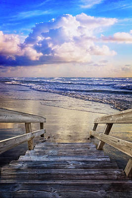 Photograph - Step Onto The Beach by Debra and Dave Vanderlaan