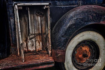 Photograph - Step Side Toolbox by Randy Rogers