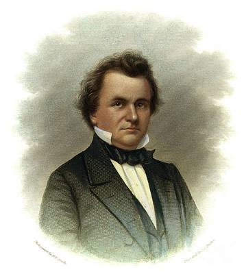 Drawing - Stephen A. Douglas by Granger