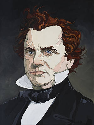Painting - Stephen A. Douglas by John Gibbs