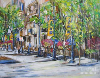 Painting - Stephen Ave. by Debora Cardaci