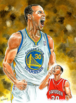 Stephen Curry Original by Tom Hedderich