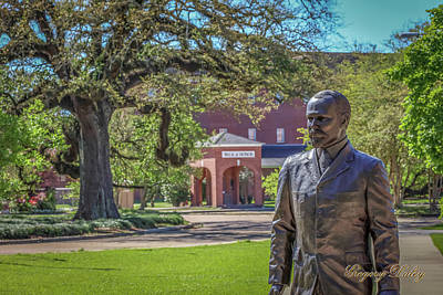 Photograph - Stephens, Oaks And Walk Of Honor by Gregory Daley  PPSA