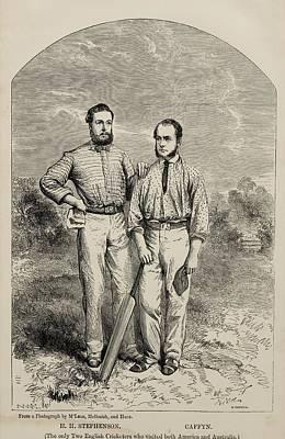 Stephenson And Caffyn. H.h. Stephenson Art Print by Vintage Design Pics
