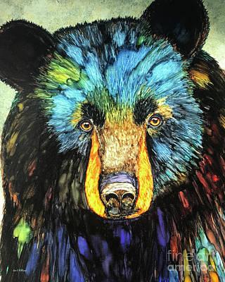 Painting - Steph's Bear by Jan Killian