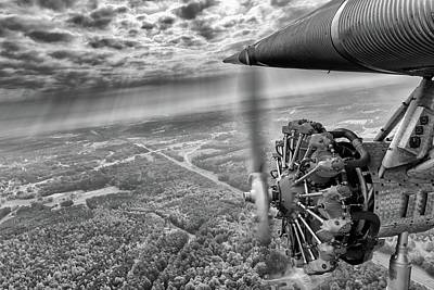 Stepping Back In Time - 2017 Christopher Buff, Www.aviationbuff.com Art Print by Chris Buff
