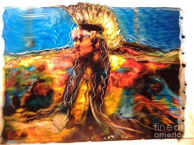 Painting - Stepping Into The Soul by FeatherStone Studio Julie A Miller