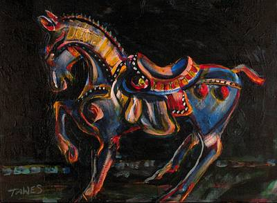 Stepping Off The Carousel Original by Dennis Tawes