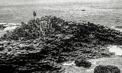 Photograph - Stepping Stones Giants Causeway by Lexa Harpell