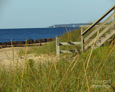 Photograph - Steps Away From The Ocean by Donna Cavanaugh