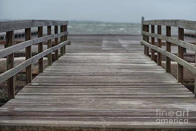 Photograph - Steps From The Atlantic by Dale Powell