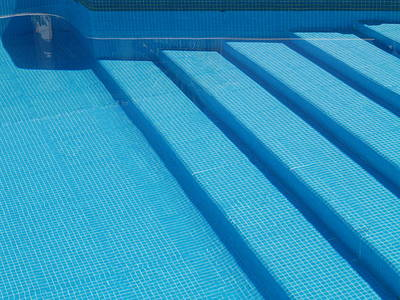Photograph - Steps In The Pool by Michael Canning
