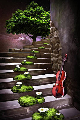 Digital Art - Steps Of Happiness by Mihaela Pater