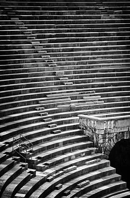 Photograph - Steps Of Verona Arena  by Carol Japp