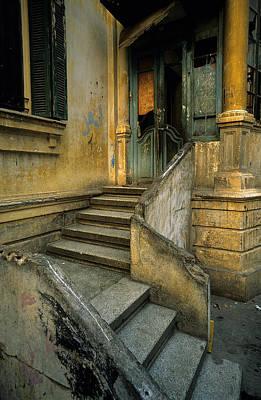 Steps. Art Print by Tarek Charara