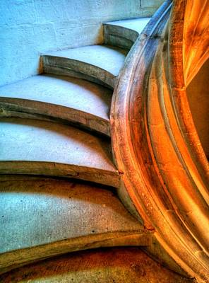 Photograph - Steps To An Organ Loft by Jenny Setchell