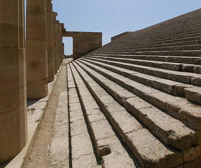 Photograph - Steps To Athena by S Paul Sahm